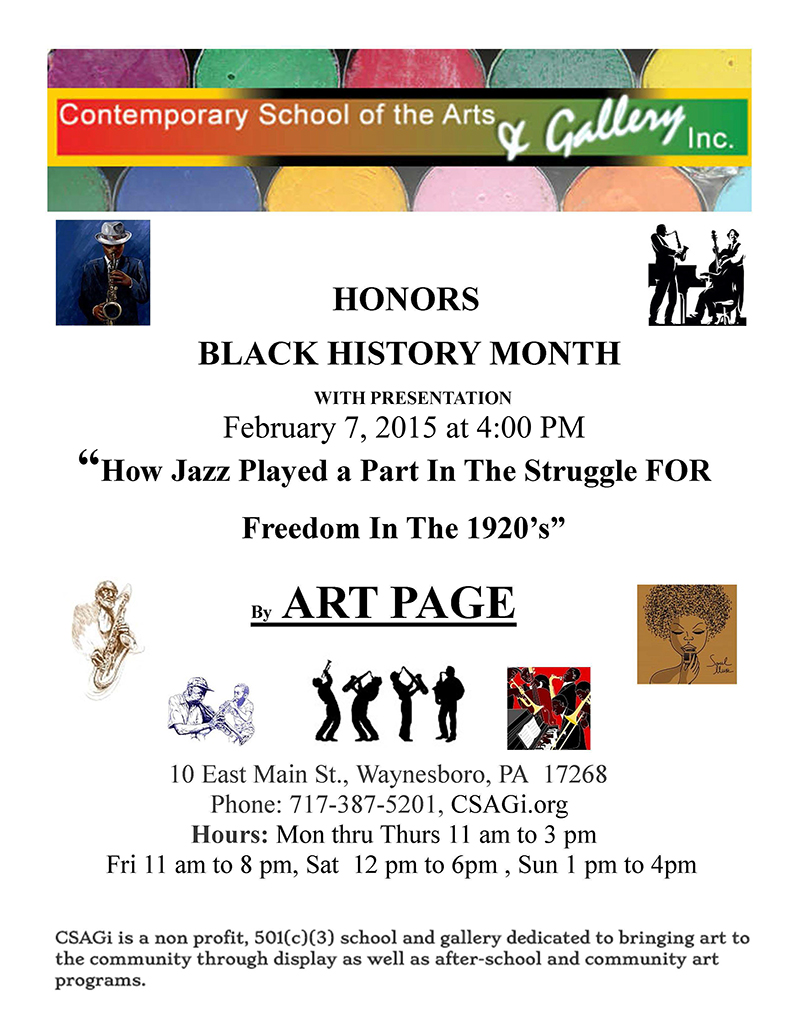 csagi Black History Month Flier Feb 2015 800