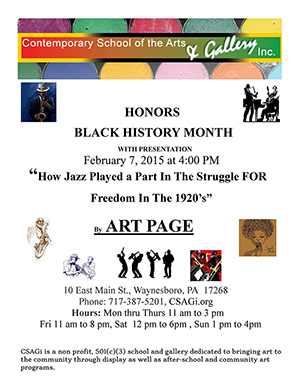 csagi Black History Month Flier Feb 2015300